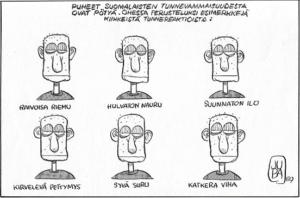 Suomalaisten tunteet