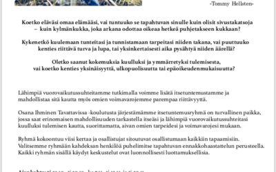Itsetuntemusryhmä Tampereella 23.10.-20.11.